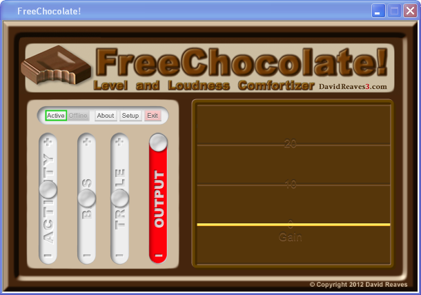FreeChocolate! screen shot